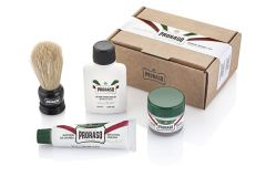 Pro raso shave travel kit